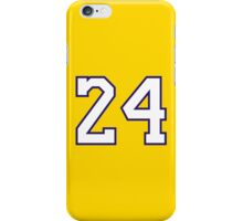 Kobe Bryant 24 iPhone Case/Skin