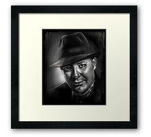 """Raymond """"Red"""" Reddington Framed Print"""