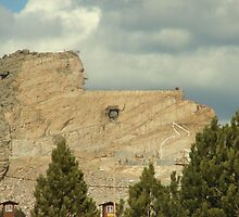 Crazy Horse Memorial, National Forest of the Black Hills of South Dakota 2 by eltotton