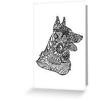 German_Shepard Greeting Card