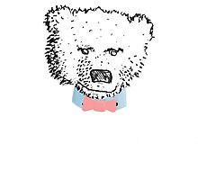 Bertie; The Bear With The Tie by charlieorourke