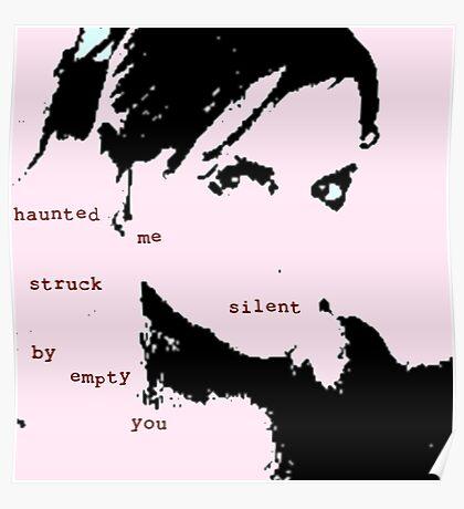 Struck Silent Poster