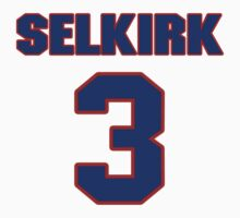 National baseball player George Selkirk jersey 3 by imsport