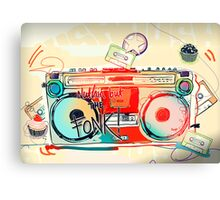 Hole Funk Canvas Print