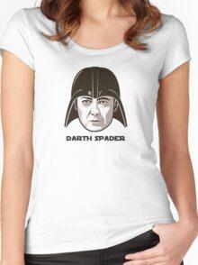 "James Spader is ""DARTH SPADER"" Women's Fitted Scoop T-Shirt"