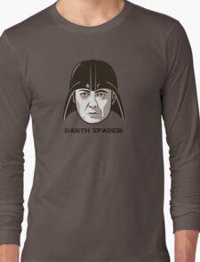 """James Spader is """"DARTH SPADER"""" Long Sleeve T-Shirt"""