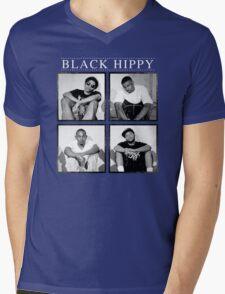 Black Hippi Mens V-Neck T-Shirt