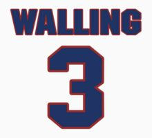 National baseball player Denny Walling jersey 3 by imsport