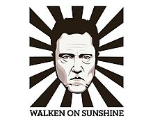 Walken on Sunshine - Christopher Walken Photographic Print
