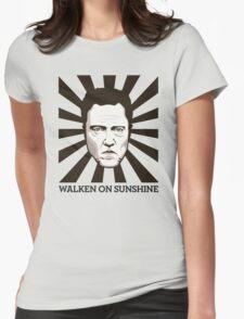 Walken on Sunshine - Christopher Walken Womens Fitted T-Shirt