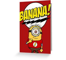 Bazinga Minion Greeting Card