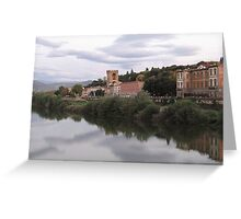 Florence in the Sky Greeting Card