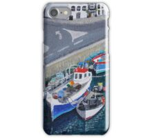 Weymouth Harbour #1 iPhone Case/Skin