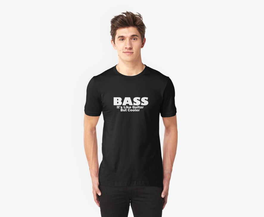 Bass for ever (White) by Leevis