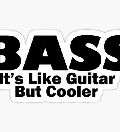 Bass for ever Sticker