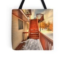 Empty Stairs Tote Bag