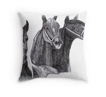 The three kings Throw Pillow