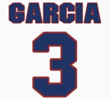 National baseball player Kiko Garcia jersey 3 by imsport