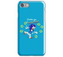 Sonic: Gotta Go F-WHOA! iPhone Case/Skin