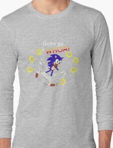Sonic: Gotta Go F-WHOA! Long Sleeve T-Shirt
