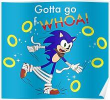 Sonic: Gotta Go F-WHOA! Poster