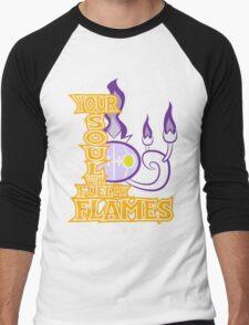 Chandelure Men's Baseball ¾ T-Shirt