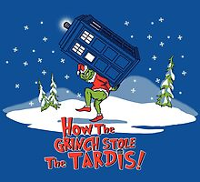 How The Grinch Stole The Tardis by jozvoz