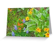 Wild in the Meadow Greeting Card
