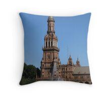 Plaza d'España, Sevilla Throw Pillow
