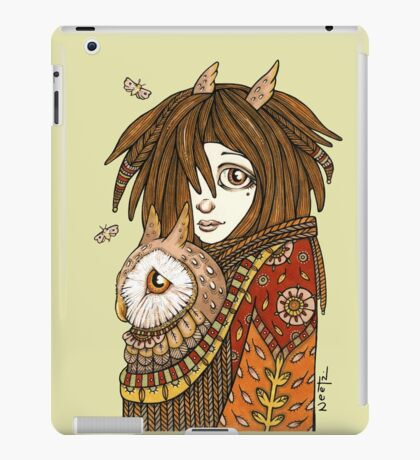 Owl Keeper iPad Case/Skin