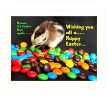 Mmmmm.. It's Easter Time Again.. - NZ Art Print