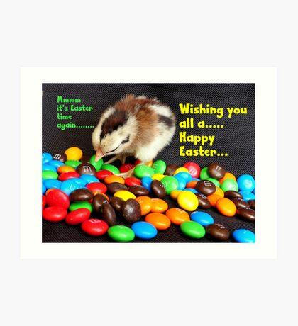 Mmmmm.. It's Easter Time Again.. - NZ Art Print