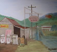 The Old Country Servo by Debra Lohrere