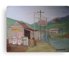 The Old Country Servo Canvas Print