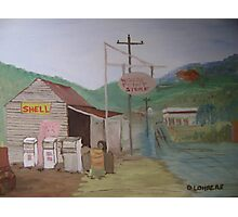 The Old Country Servo Photographic Print