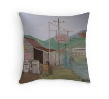 The Old Country Servo Throw Pillow