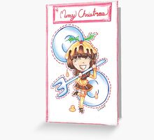 Figgy Pudding Greeting Card