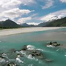 Dartmouth River, New Zealand by AnnieD