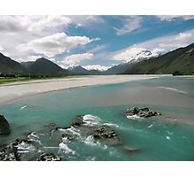 Dartmouth River, New Zealand Photographic Print