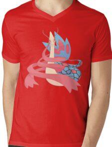 Milotic Mens V-Neck T-Shirt