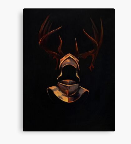 The Night Is Dark and Full of Terrors Canvas Print