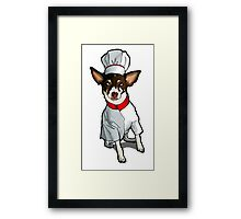 Chef Eddie Framed Print