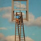 WINDOW CLEANER IN THE SKY by vinpez