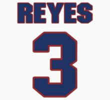 National baseball player Rene Reyes jersey 3 by imsport