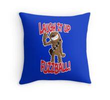 "Star wars Chewbacca ""Laugh it up Fuzzball"" Throw Pillow"