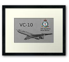 VC-10 Framed Print