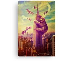 Sloth Kong Canvas Print