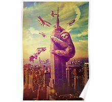 Sloth Kong Poster