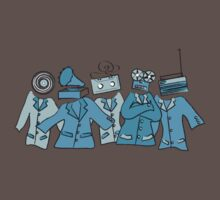 Analog Soldiers (blue) by Damian Silliman