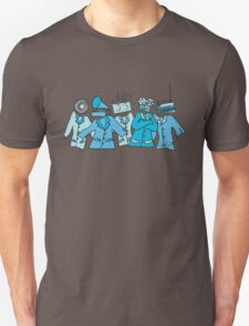 Analog Soldiers (blue) Unisex T-Shirt